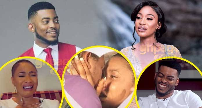 Photo of I struggled to kiss Tonto Dikeh on set the first time I saw her – Ghanaian actor