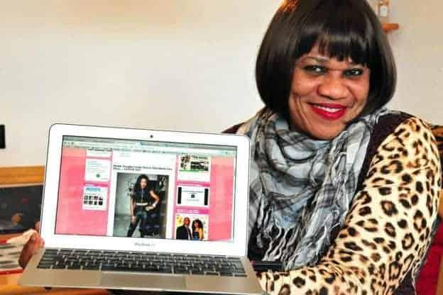 Stella Dimokorkus fires shots directed at a corner Linda Ikeji is sitting in