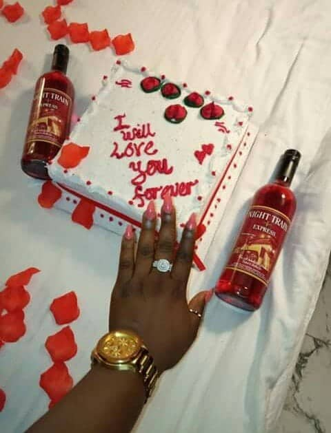 Photo of How a UK-based man proposed to his girlfriend based in Lagos