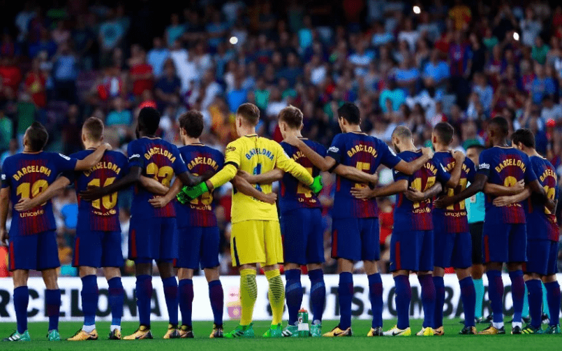 Photo of Barcelona release list of players for UCL game against PSV Eindhoven