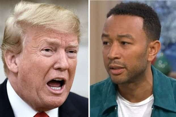 Photo of John Legend slams Trump, says he's a racist, misogynist and a liar