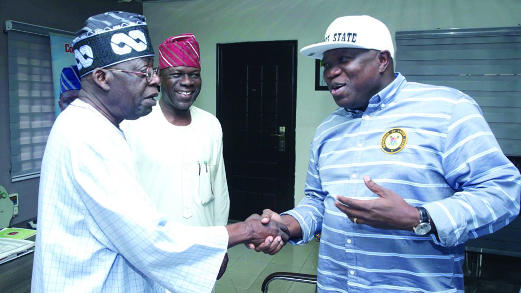 Photo of Ambode finally speaks on reported fallout with Tinubu