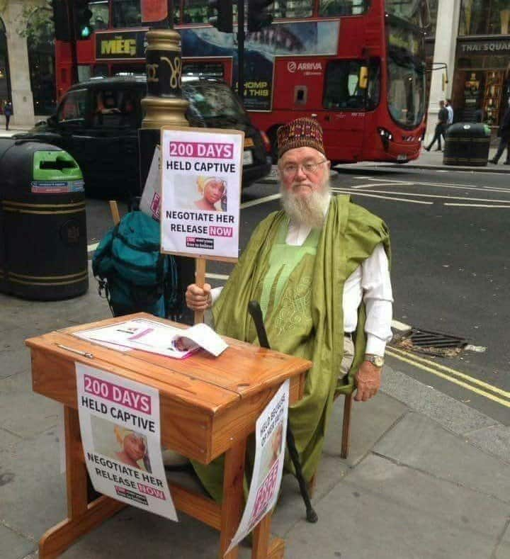 Photo of Another British protests in London for the release of Leah Sharibu