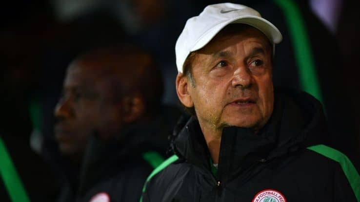 Photo of Rohr names 18 players for friendly match against Liberia