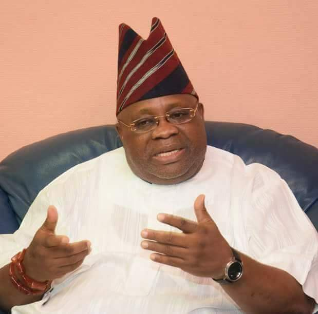 Photo of Dancing Governor, Ademola Adeleke of PDP declared winner of Osun governorship election