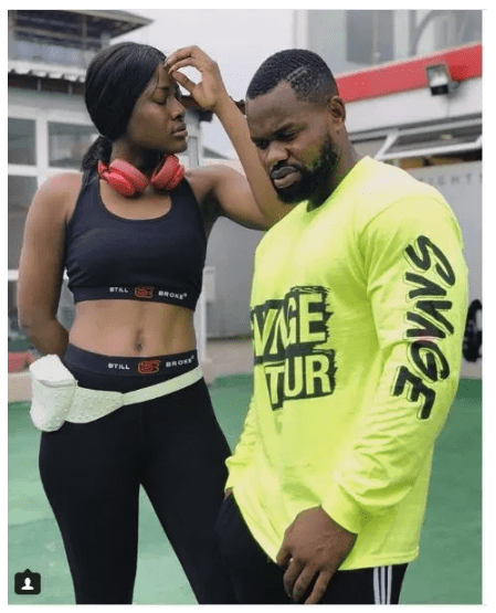 Photo of Kemen reacts as trolls accuse Alex of copying Cee-C (Photos)