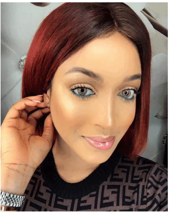 Photo of Dabota Lawson's message to ladies dating her exes