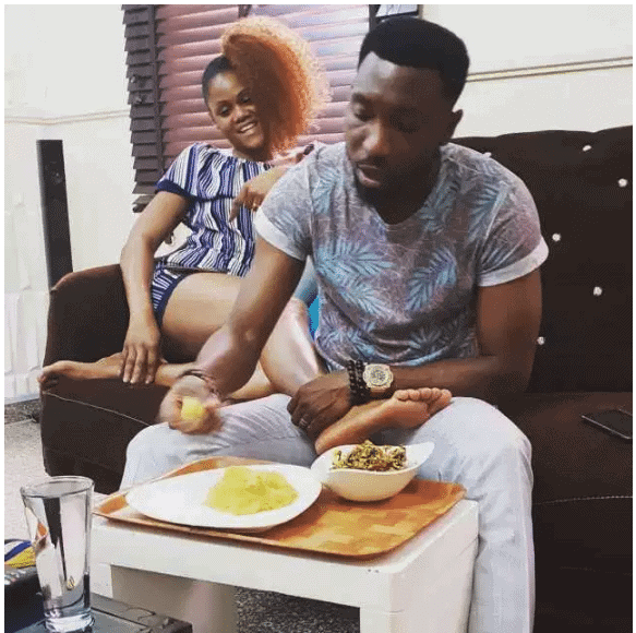 Photo of Timi Dakolo shares hilarious IG post after his wife served him lunch