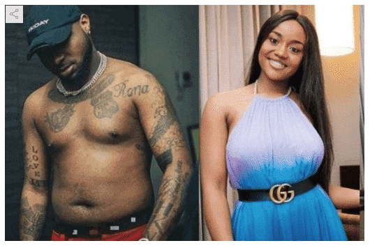 Photo of Chioma due to give birth for Davido next month