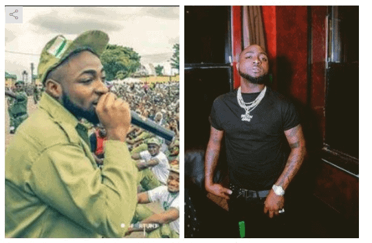 Photo of Davido cancels US tour due to NYSC commitments