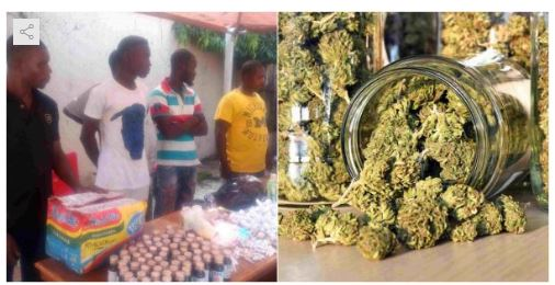 Photo of There is no job in the country – Suspect on why he sells marijuana