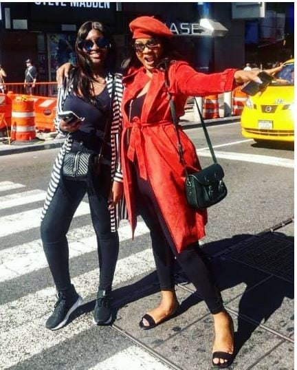 Photo of Photo of Omotola Jalade-Ekeinde and daughter makes tongue wag