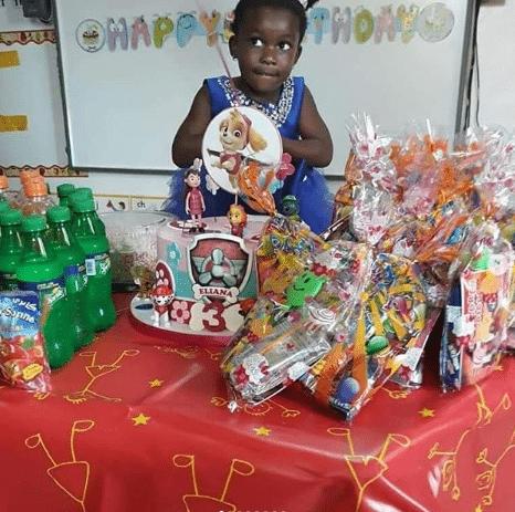 Photo of Good luck Jonathan's first grand daughter turns 3 (photos)
