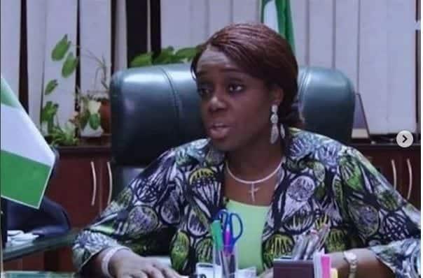 Photo of Kemi Adeosun departs Nigeria