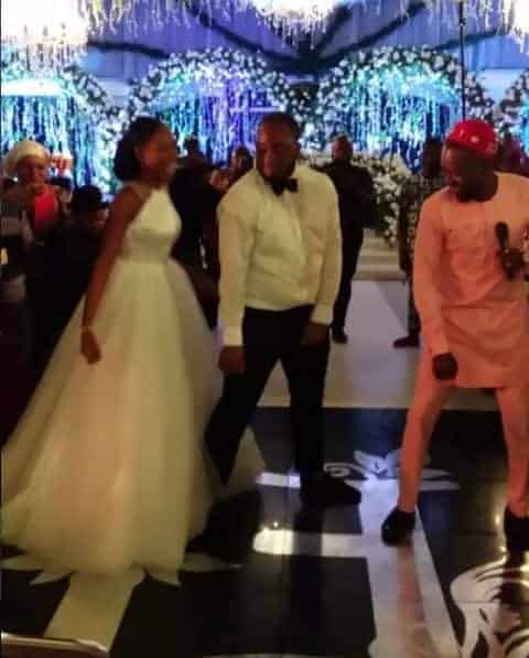 Photo of Lala Akindoju and Chef Fregz wedding: Moment Adekunle Gold surprised the couple