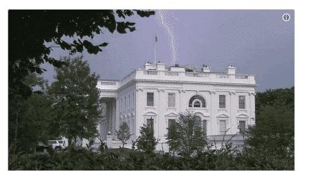 Photo of Lightning strikes White House (see photos)