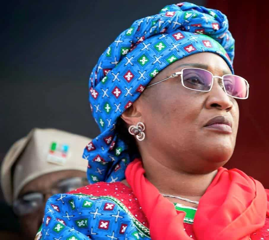 Photo of Mama Taraba officially resigns from Buhari govt, APC after being disqualified