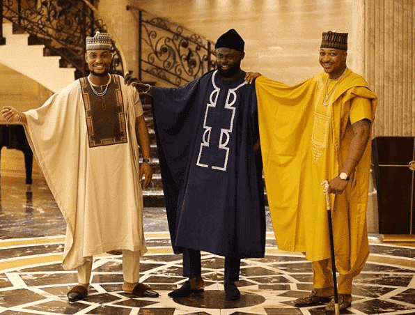 Photo of #AgbadaChallenge: Iyabo Ojo, Alex Ekubo, Adebola Williams, more stars rock breathtaking agbada for Merry Men premiere