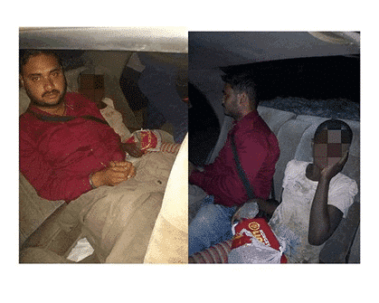 Photo of Indian man uses food to defile hungry underage girl in his car