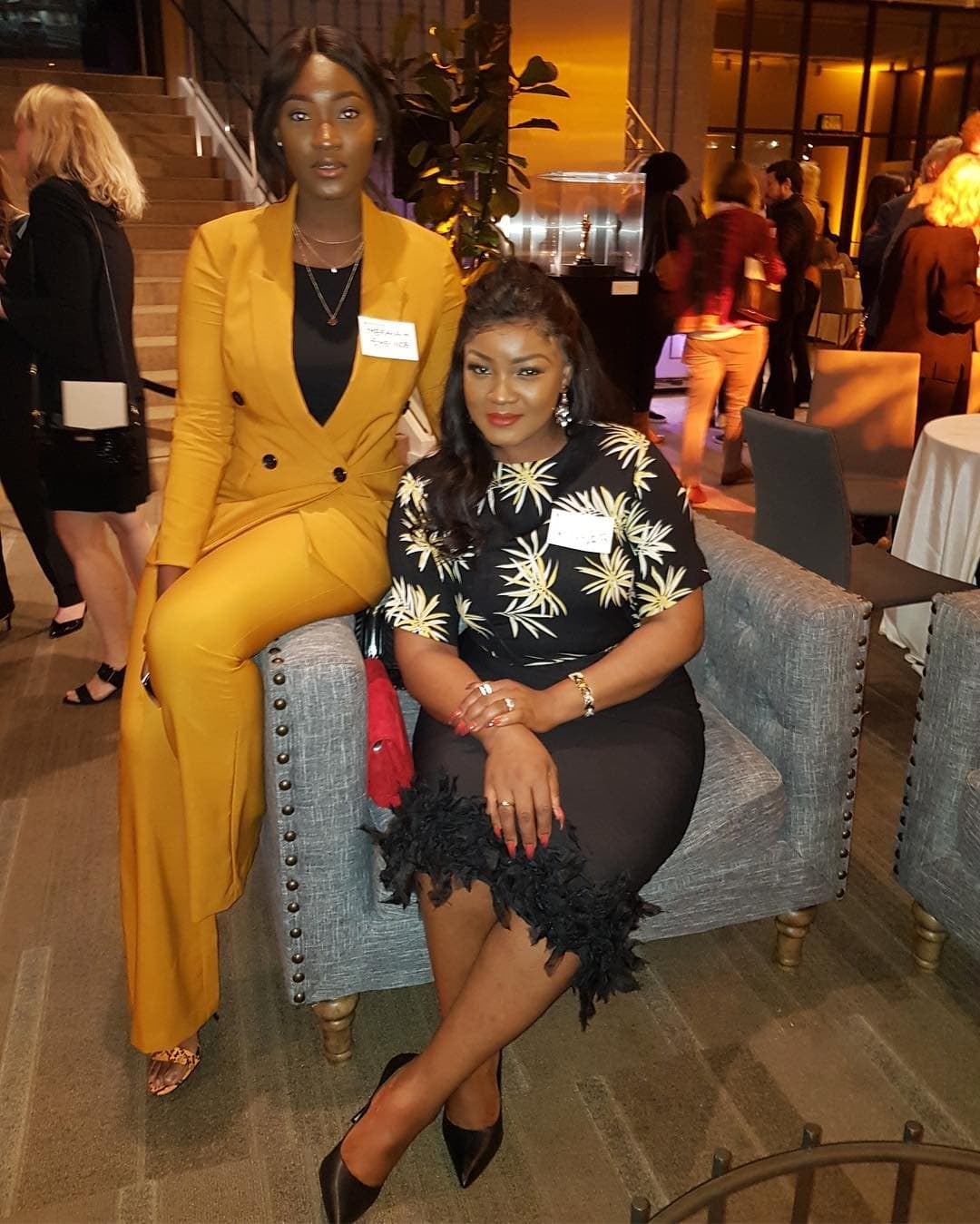 Photo of Omotola Jalade-Ekeinde & daughter Meraiah attend Private Reception in style (Photos)