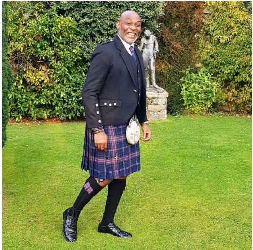 Photo of Check out RMD and Don Jazzy rocked the Scottish kilt (Photos)