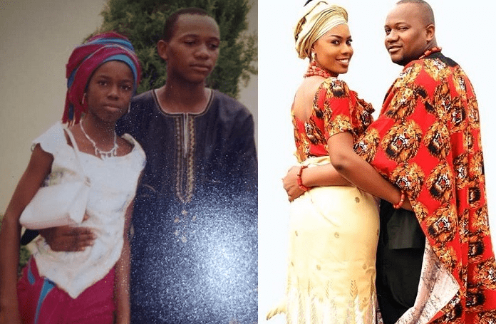Photo of How 'school father – daughter relationship' in the secondary school led to marriage (Photos)