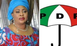 Stella Oduah returns to PDP after 3 months of moving to APGA