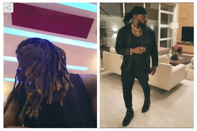 Photo of Photos: Timaya shows off his new dreadlocks hairstyle