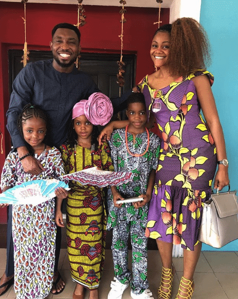 Photo of Kids of Nigerian celebrities celebrate Independence day in style