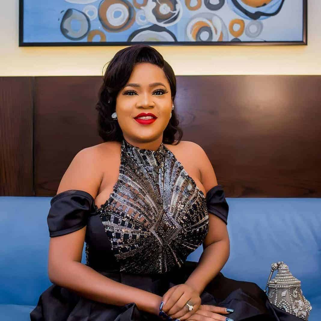 Photo of Toyin Abraham and fiance separate few months after engagement