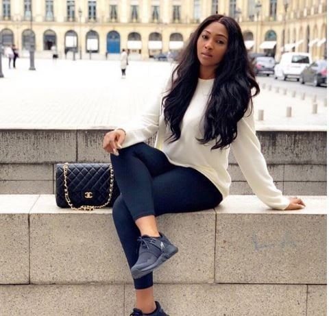 Photo of Ubi Franklin's ex-wife, Lilian Esoro hints at finding love in Italy