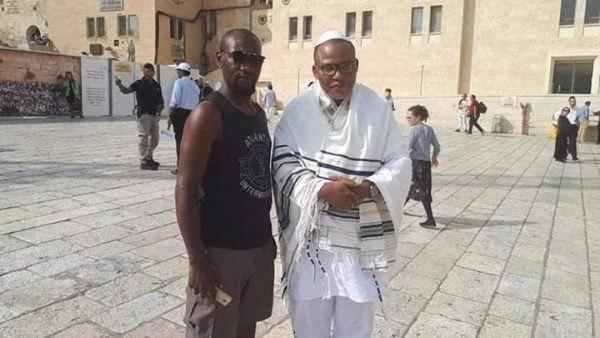 Photo of Mixed reactions after photos of Nnamdi Kanu in Jerusalem surface online