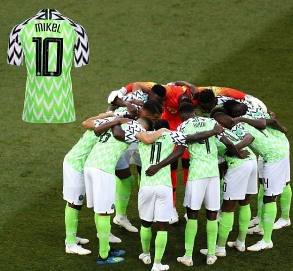 Photo of 2018 World Cup: Mikel Obi's Super Eagles jersey now added to the FIFA museum collection