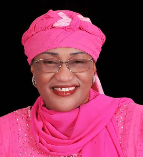 Photo of Moment Mama Taraba,  Aisha Alhassan removed furniture, rugs & computers she donated from APC Secretariat