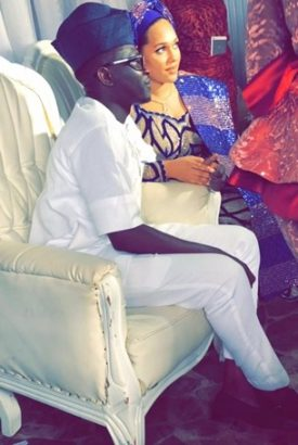 Photo of Tania Omotayo holds traditional wedding with club owner, Sumbo in Lagos