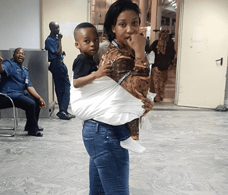 Photo of How Tonto Dikeh almost lost her only son, King Andre to sickness