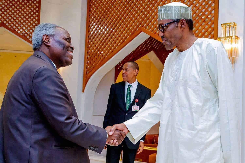 Photo of 2019 election: Buhari meets Pastor Kumuyi  (photos)