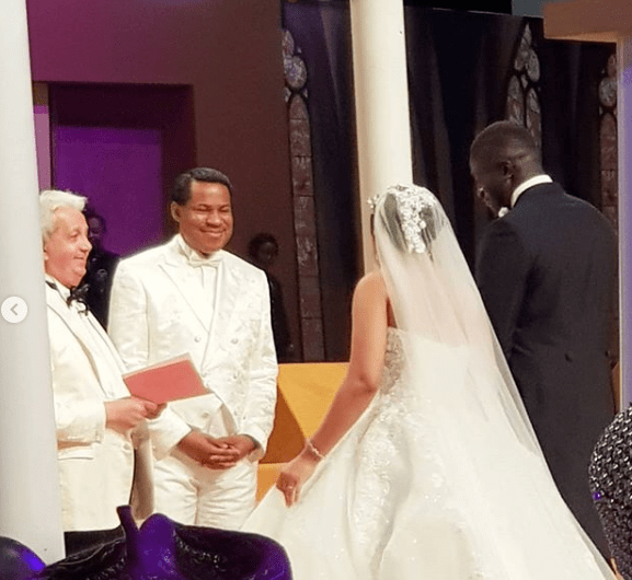 Jubilation as Chris Oyakhilome becomes a grandfather