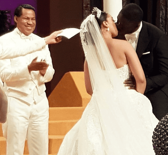Photo of Beautiful white wedding photos of Pastor Chris Oyakhilome's daughter