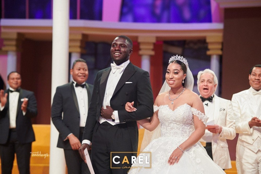 Photo of Exclusive: The love story of Pastor Chris Oyakhilome's daughter and her Ghanaian groom (photos)