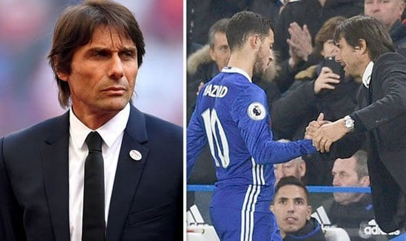 Photo of Eden Hazard to stop Real Madrid from signing Antonio Conte