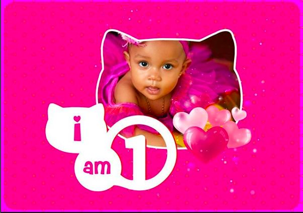 Yvonne Nelson's Daughter Ryn Turns One (photos)