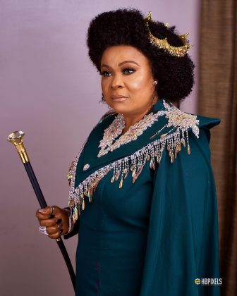 Photo of Sola Sobowale develops hypertension as King of boys movie project takes toll on her