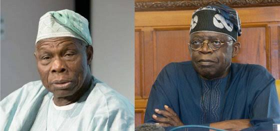 Photo of 2019 election: Obasanjo makes jest of Tinubu's role in the APC