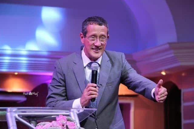 Photo of Kenyans react as gay CNN anchor, Richard Quest speaks in church