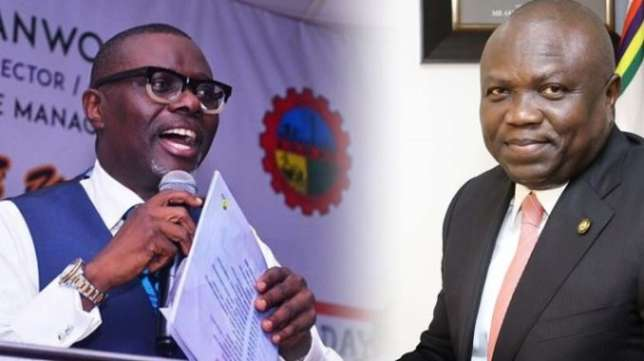 Photo of Babajide Sanwo-Olu thanks Ambode for a good fight