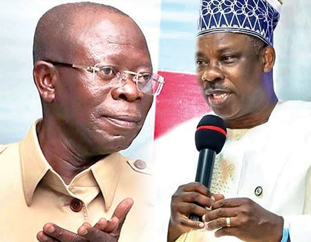 Photo of APC crisis: Amosun is blackmailing me – Oshiomhole cries out