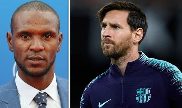 Everyone knows when Messi is angry - Abidal