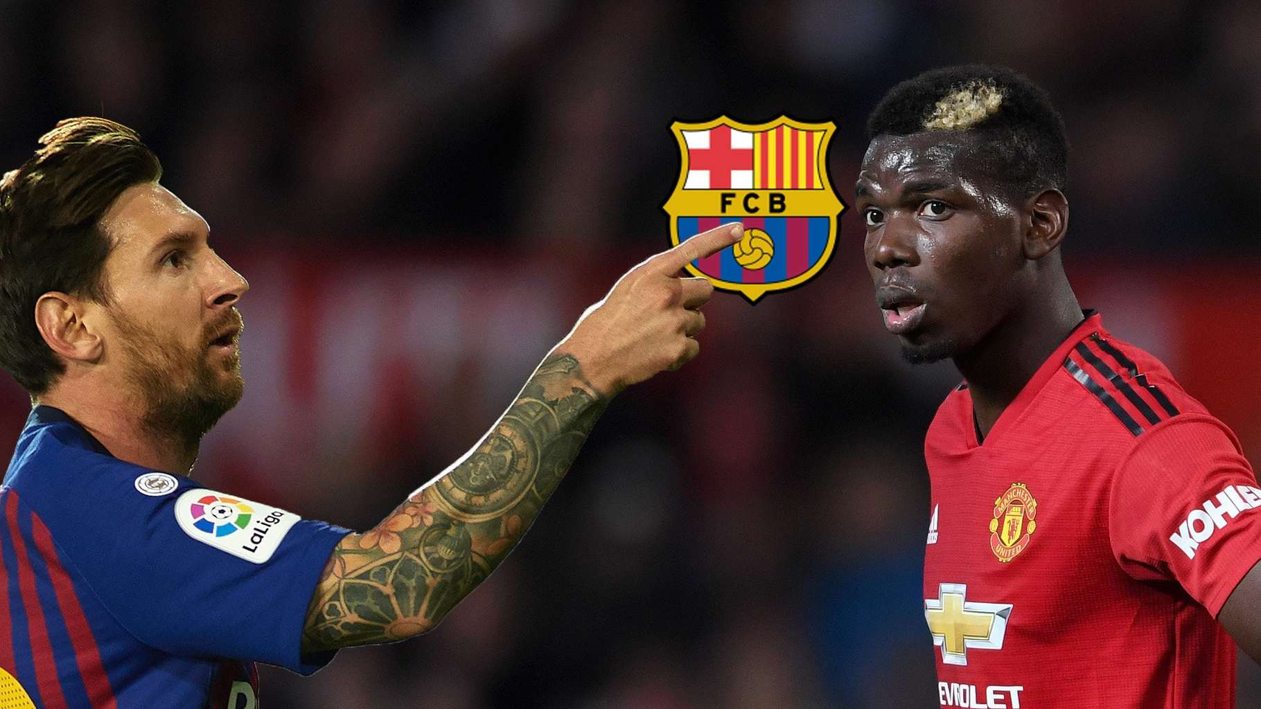 Photo of Barcelona players and scouts disagree over signing of Paul Pogba
