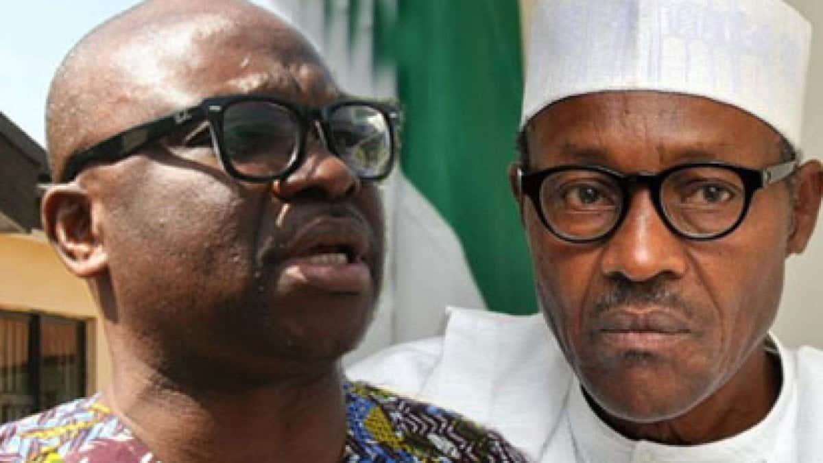 Fayose: Buhari will be contesting against Nigerians in 2019